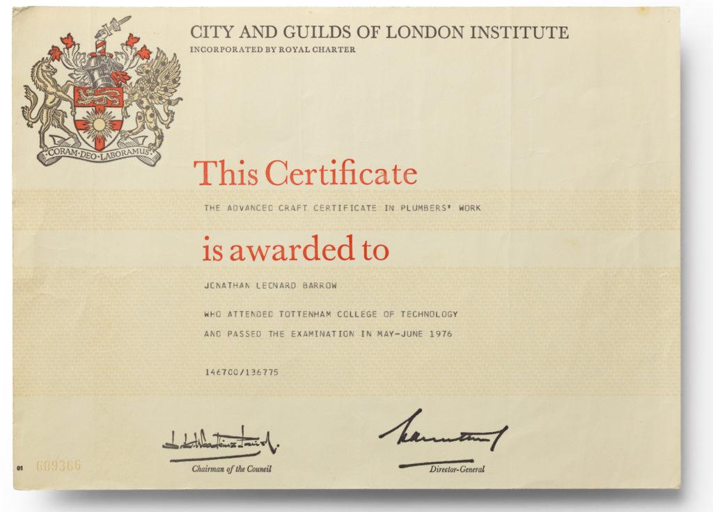 City And Guilds Advanced Craft Certificate - Best Design Sertificate ...